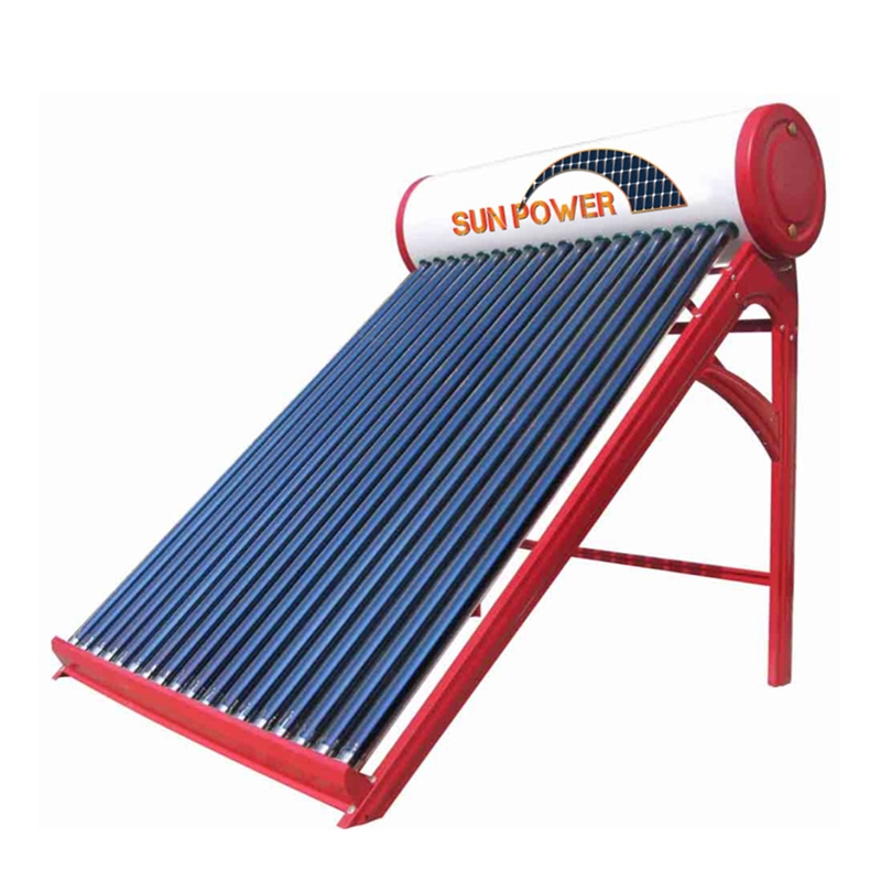 "Solar heating system ""German Technology by evacuated tubes"""